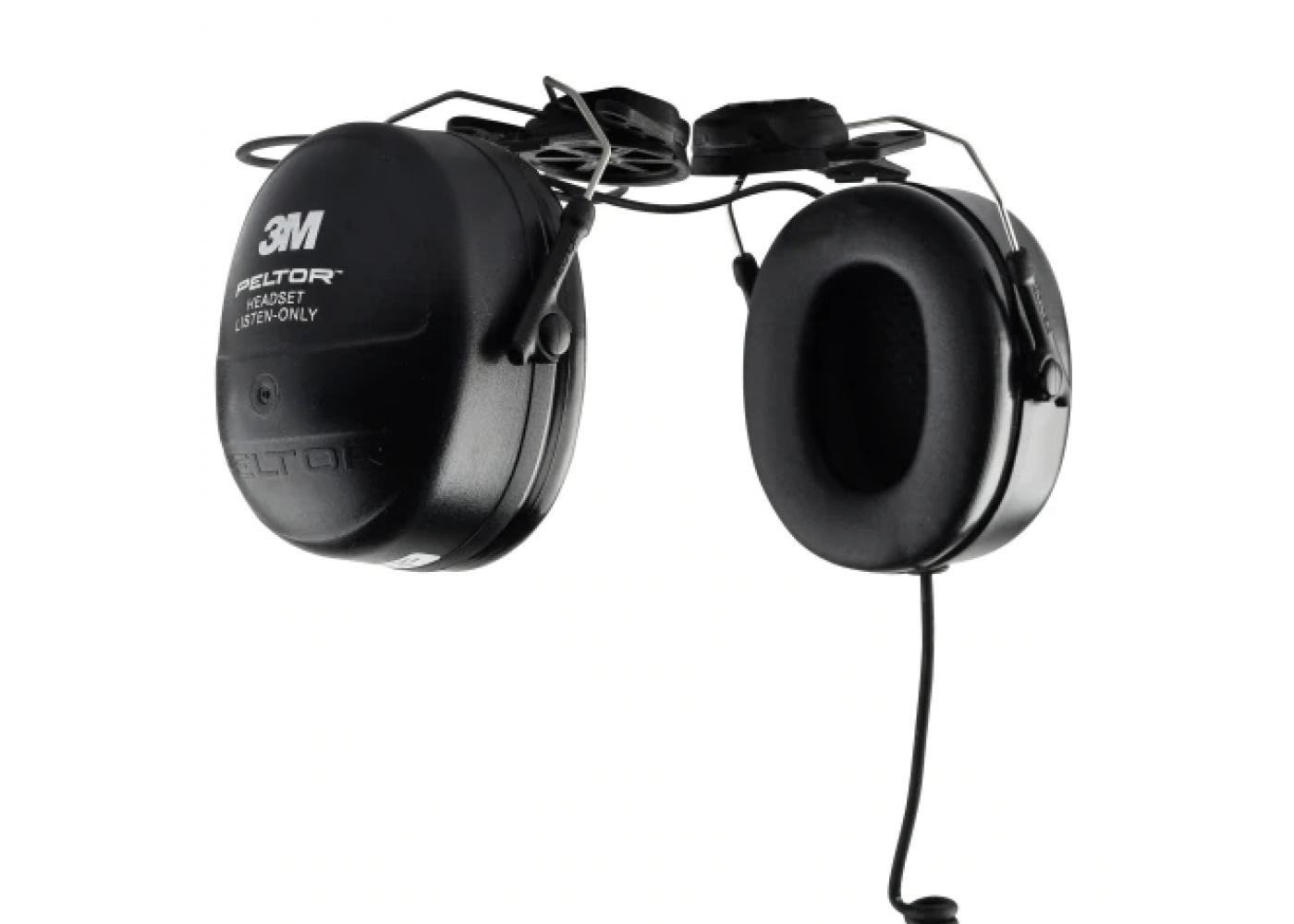 3.5mm Receive-only Earpiece For Motorola Kenwood RSM Handheld