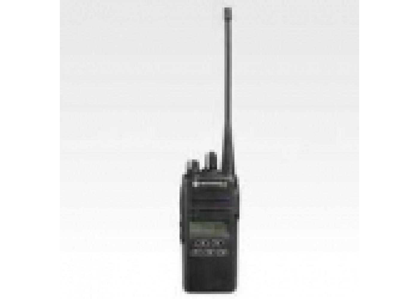 Motorola CP185 free headset Signalling UHF Display AAH03RDF4AB7AN