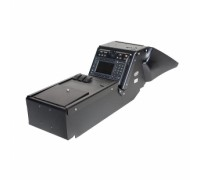 2011-2014 Dodge Charger Police package Console Box.  Includes 3  faceplates
