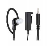 BDN6729A Earpiece with Mic PTT Com Black