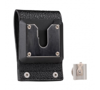 NTN9179 Leather Swivel Belt Loop and D-clip