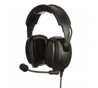 PMLN7465 - Heavy-Duty, Over-the-Head Headset With Noise-Canceling Boom Micr