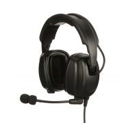 PMLN7467 - Heavy-Duty, Over-the-Head Headset With Noise-Canceling Boom Micr