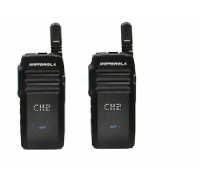 Motorola TLK 100 Cellular Two Way Radio 2 Pack