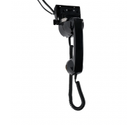 Handset with Hang-Up Cup