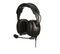 PMLN7464 - Heavy-Duty, Over-the-Head Headset With Noise-Canceling Boom Micr