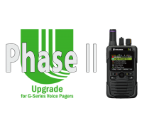 Unication Phase II Upgrade for the G-Series Pagers