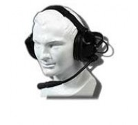 Motorola BDN6645A Heavy-Duty Headset with Earcup Push-To-Talk
