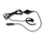 BDN6728 Earpiece Rec Only w/Vol Ctl  (Black)