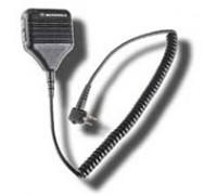 PMMN4013A Remote Speaker Mic w/Coil Cord and Swivel Clip