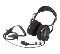 Medium Duty Headset, Behind-the-Head, with In-Line PTT