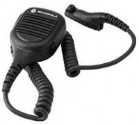 IMPRES Remote Speaker Microphone. Noise-Canceling, IP54
