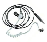 RLN5313B Receive-Only Surveillance Kit , Black, Comfort Earpiece