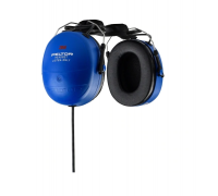 Receive-Only Hard-Hat Mount Headset with 3.5mm right angle plug