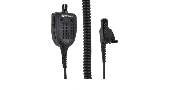 hmn4112a gps remote speaker microphone
