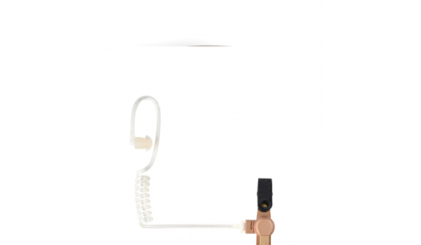 2-Wire Receive-Only Surveillance Kit with Mic and PTT Combined, Beige RLN5311
