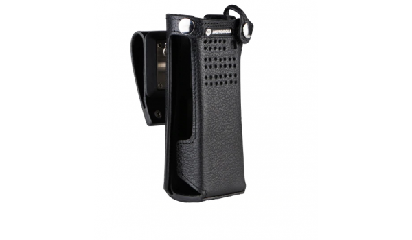 PMLN5560 Dual Display Portable Leather Flip Carry Case for NNTN7038 battery