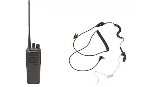 AAH01JDC9JCA2AN  CP200D with headset 136-174Mhz 5 Watts Digital Motorola TRBO