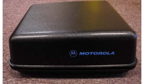 Motorola Motorcycle Radio Enclosure Box HLN7022A For Motorola APX 4000 Series, APX 6000 Series, APX 7000 Series Radios