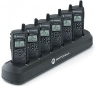 6 Pack of Motorola DTR650 with free 6 bank charger 900Mhz
