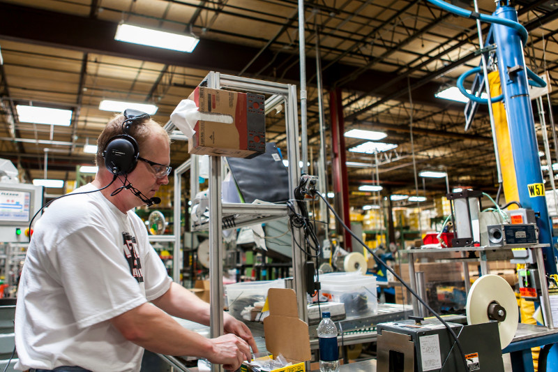 Two way radios for factories and manufacturing