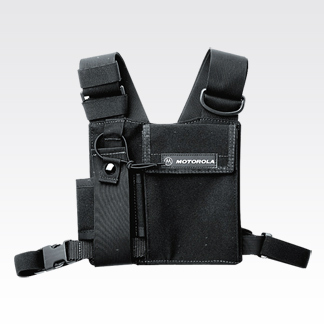 Universal Chest Packs - Carriers for most portable radios with PR400 Carrying Case - Works With