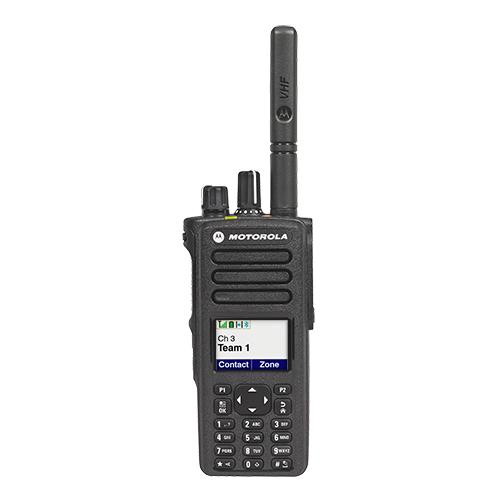 Capacity Plus TRBO system Type II DMR Motorola