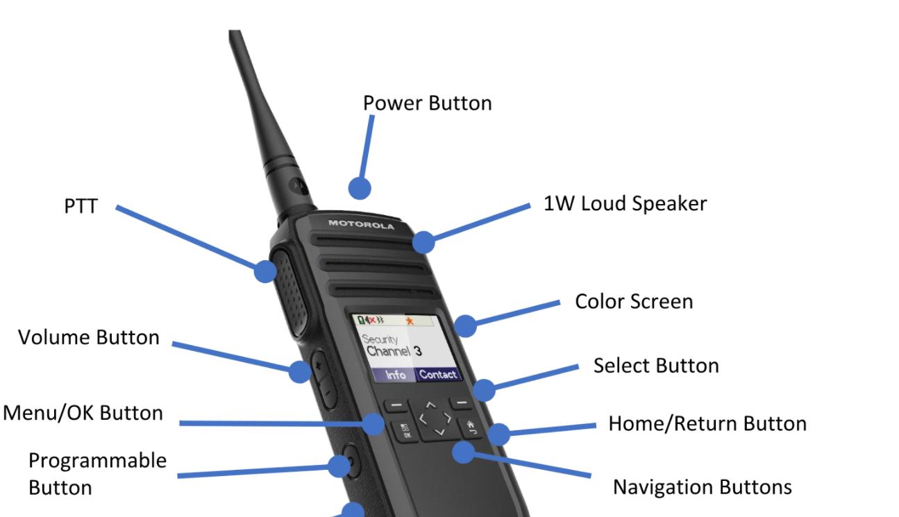 Motorola DTR700 Digital Portable Radio