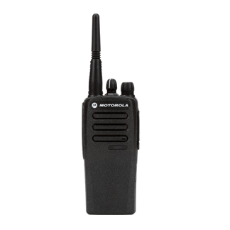 Construction Radios by Motorola with No Radio Finder - Display
